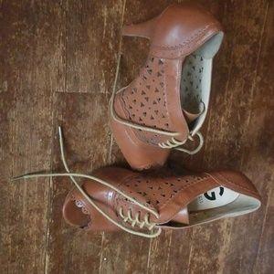 Guess high heels.